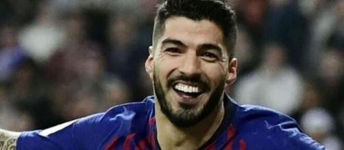 Luis Suarez, attaccante del Barcellona.