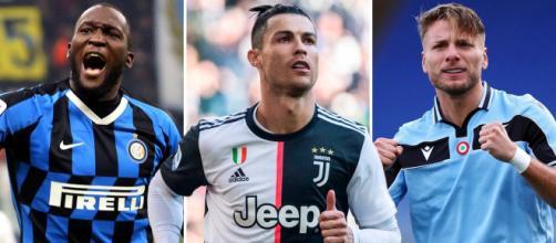 Lukaku, Cristiano Ronaldo e Immobile vão ferver a Itália na estreia da Serie A pela temporada 2020/21. (Arquivo Blasting News)