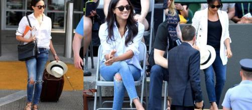Meghan Markle usaba jeans aún siendo miembro de la Familia Real Británica.