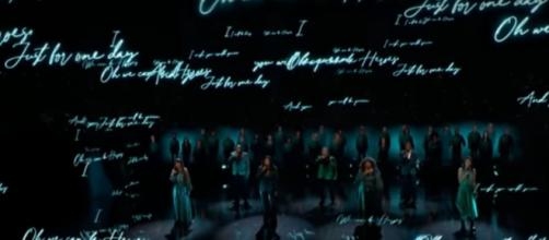 'America's Got Talent' hears a needed message from Voices of Our City choir in the semifinals.[Image source:AGT-YouTube]