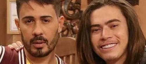 Carlinhos Maia comenta forma que Luísa Sonza tratava Whindersson Nunes. (Arquivo Blasting News)