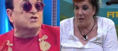GF Vip, Malgioglio difende De Blanck: 'Una donna che ti dice in faccia quello che pensa'.