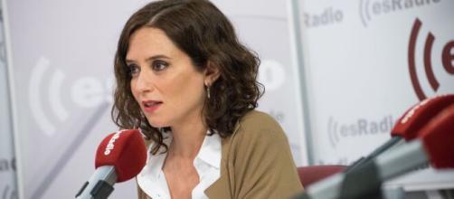 Isabel Díaz Ayuso en el debate sobre el estado de la región, anunció la rebaja del IRPF.