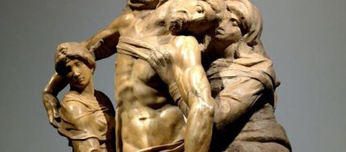 Michelangelo Buonarroti, 'Pietà Bandini'