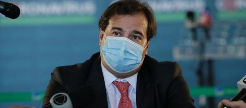 Rodrigo Maia testa positivo para covid-19 (Arquivo Blasting News)