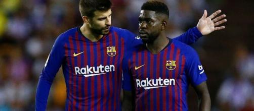 Samuel Umtiti perdeu prestígio no Barcelona por conta das lesões. (Arquivo Blasting News)