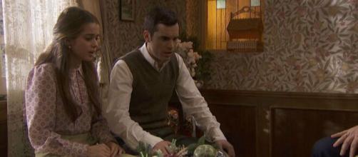 Spoiler Il Segreto: Carolina e Pablo scoprono che non possono amarsi.