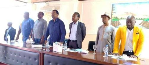 Assemblée avec les membres du SYNAJIC à Yaundé (c) SYNAJIC