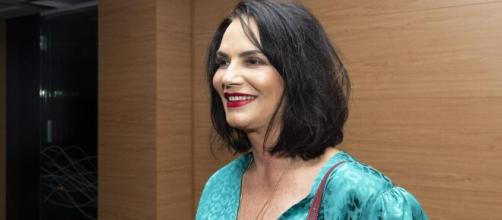 Luiza Brunet comemora decisão do STJ contra Lírio Parisotto. (Arquivo Blasting News)