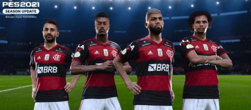 O Flamengo é o melhor time brasileiro na nova edição do PES. (Arquivo Blasting News)