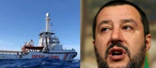 Open Arms, Salvini parla di 'ricatto di Ong straniere'.