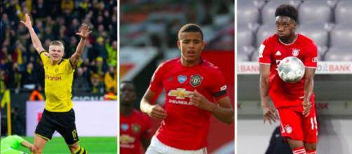 Quels sont les joueurs qui ont connu la plus grosse progression sur Fifa - Photo montage via Instagram