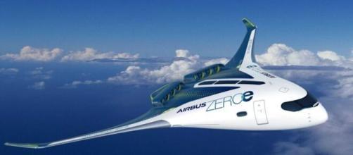Airbus presenta il primo aereo a idrogeno: potrebbe entrare in servizio entro il 2035.