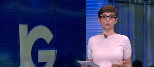 Jornal da Globo exibe erro de português. (Reprodução/TV Globo)