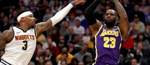 Los Angeles Lakers e Denver Nuggets abrirão as finais da Conferência Oeste. (Arquivo Blasting News)