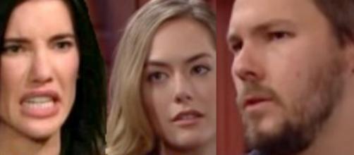 Beautiful, spoiler Usa: Steffy accusa Liam e Hope di aver rapito sua figlia Kelly.