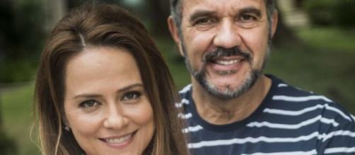 Lili e Germano irão retomar romance em 'Totalmente Demais'. (Reprodução/ TV Globo)