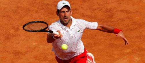 Novak Djokovic semifinalista agli Internazionali d'Italia 2020.