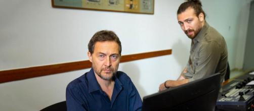 Un posto al sole Marcello (Fabio Cocifoglia) e Manuel (Renato Paioli).