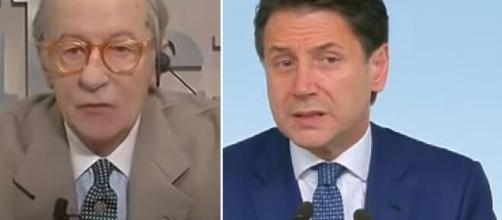 Editoriale di Vittorio Feltri contro Giuseppe Conte.