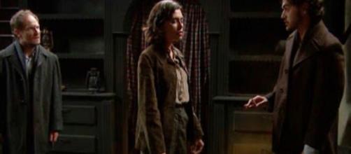 Il Segreto, spoiler Spagna: Matias, Alicia, e Damian temono di essere arrestati.