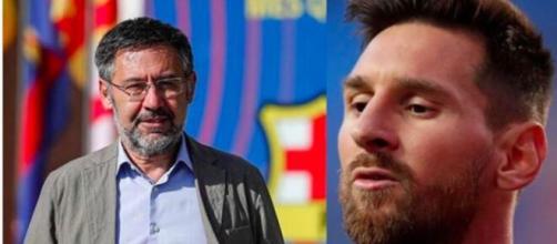 Lionel Messi en plein clash avec le FC Barcelone - Photo capture d'écran Instagram Marca