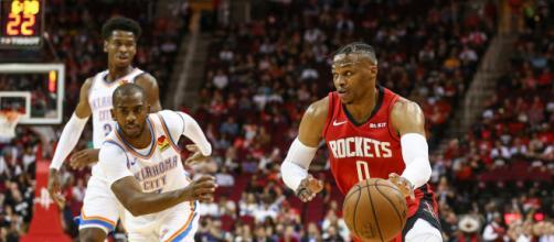 Rockets e Thunder decidem que será o último semifinalista da Conferência Oeste na NBA nessa quarta-feira, as 22h.