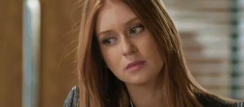 Eliza armará contra o padrasto em 'Totalmente Demais'. (Reprodução/TV Globo)