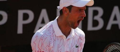 Novak Djokovic finalista agli Internazionali d'Italia 2020.