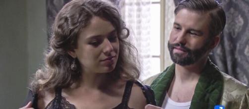 Una vita: Felipe ha finto con Genoveva.