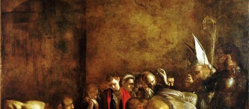 Caravaggio, 'Il Seppellimento di Santa Lucia' da Siracusa a Rovereto.