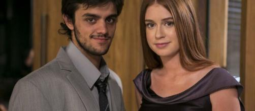 Eliza salva Jonatas em 'Totalmente Demais'. (Arquivo Blasting News)