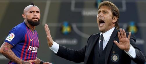 La nuova Inter di Conte con Vidal.