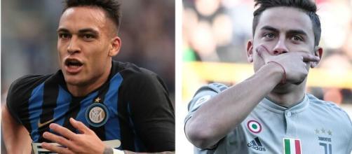 Lautaro (Inter) e Dybala (Juventus) são os sul-americanos que vem se destacando pelo futebol italiano. (Arquivo Blasting News)