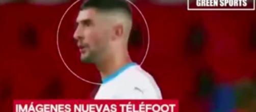 Les nouvelles images qui montreraient qu'Alvaro a traité Neymar de singe - photo capture d'écran Twitter et facebook