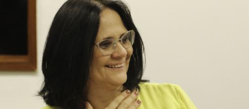 Ministra Damares Alves interveio no aborto da menina de 10 anos do Espírito Santo (Agência Brasil)