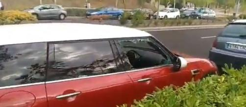 Robos y destrozos en el interior de los coches en Vicálvaro