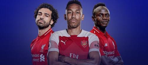 Salah, Aubemayang e Mané são alguns dos melhores futebolistas africanos. (Arquivo Blasting News)