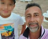Claudio Baima Poma e il figlio di 11 anni