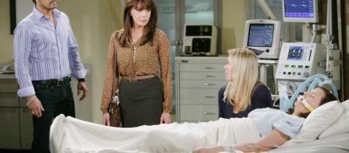Beautiful anticipazioni americane: Flo è il donatore che salverà la vita di Katie.