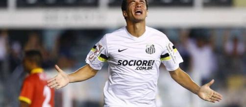 Leandro Damião não teve uma boa passagem pelo Santos. (Arquivo Blasting News)