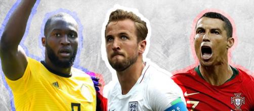 Lukaku, Kane e Cristiano Ronaldo foram os artilheiros da Copa do Mundo de 2018, sediada na Rússia. (Arquivo Blasting News)