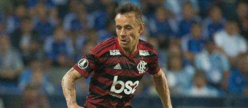 Campeão da Libertadores em 2019, com o Flamengo, Rafinha deixou o clube e foi para a Grécia. (Reprodução)
