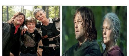 Carol et Daryl dans Walking Dead Saison 10
