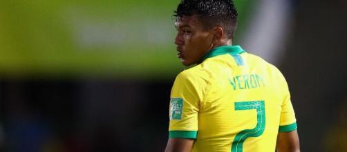 Destaque do Palmeiras e das Seleções de base, Gabriel Verón é um dos mais novos deste Brasileirão. (Arquivo Blasting News)