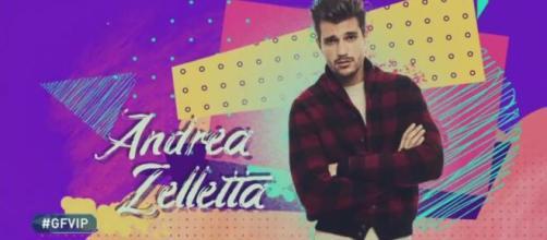 GF Vip 5, Andrea Zelletta nella casa non parla mai di Natalia: fan pensano ad una crisi.