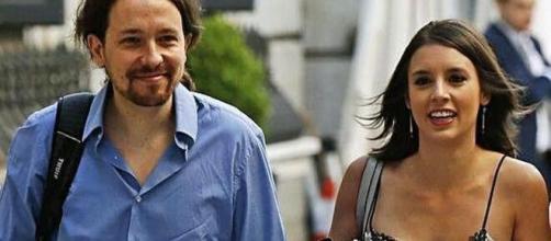 Irene Montero y Pablo Igledsias en imagen de archivo