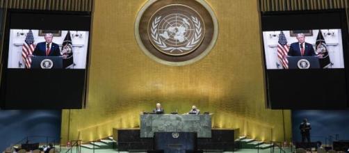 L'assemblée générale de l'ONU à New York, source : capture - Twitter