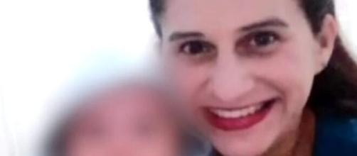 Mãe e bebê foram encontrados mortos em Rio dos Cedros, SC, e ex-companheiro é suspeito. ( Foto: NSC TV/Reprodução)