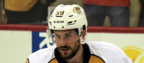 Roman Josi of the Nashville Predators. [Image Source: Michael Miller/Wikimedia Commons]